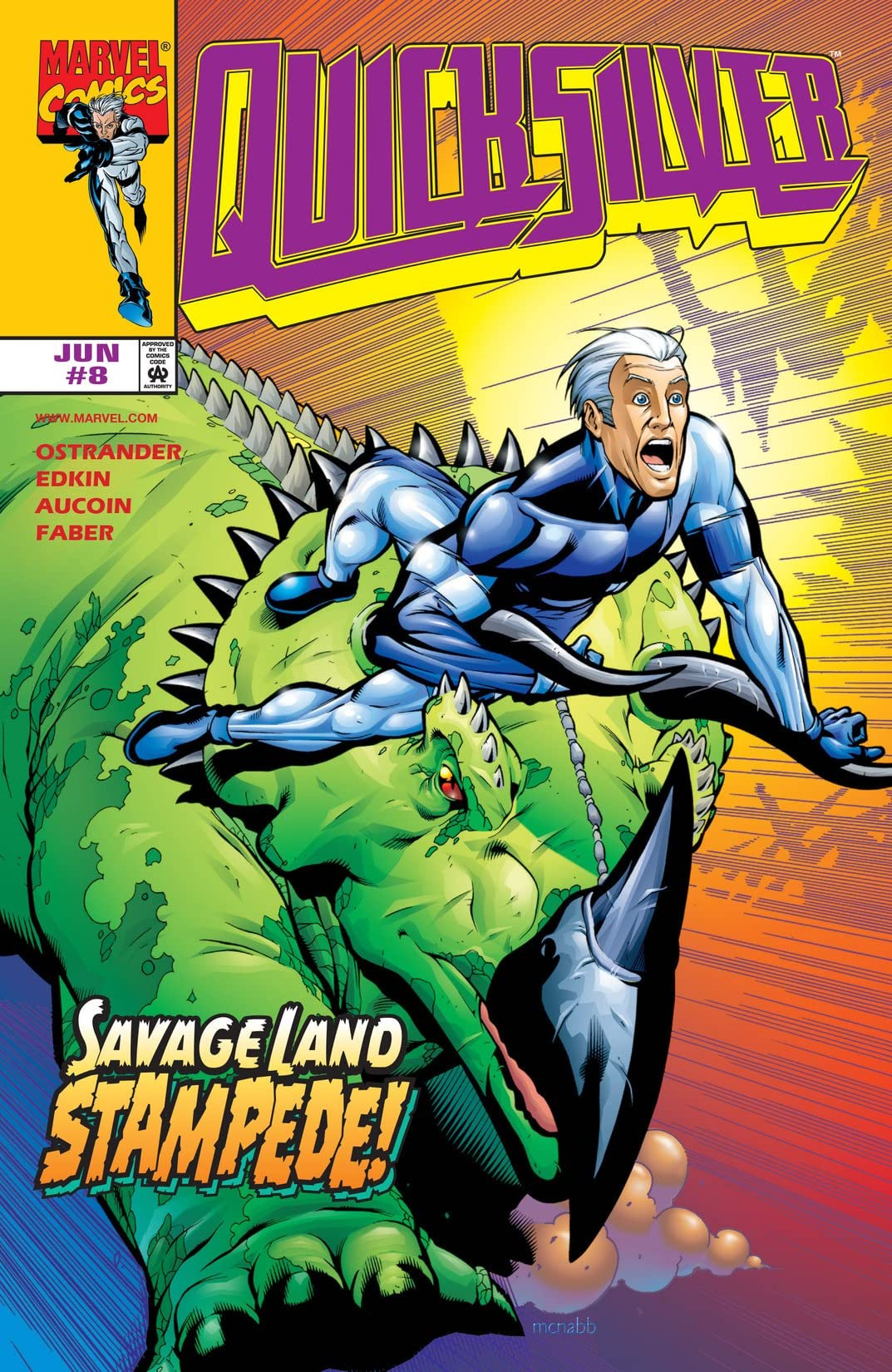 Quicksilver (1997-1998) #8