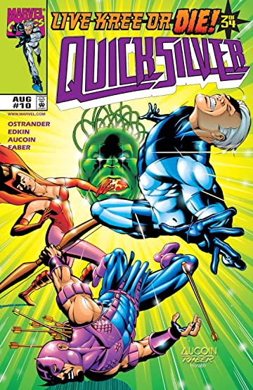Quicksilver (1997-1998) #10