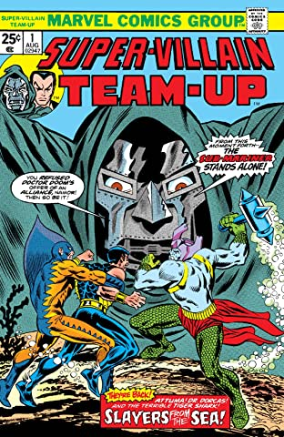 Super-Villain Team-Up (1975-1980) No.1