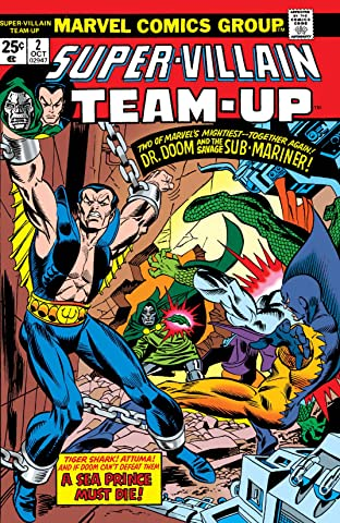 Super-Villain Team-Up (1975-1980) No.2