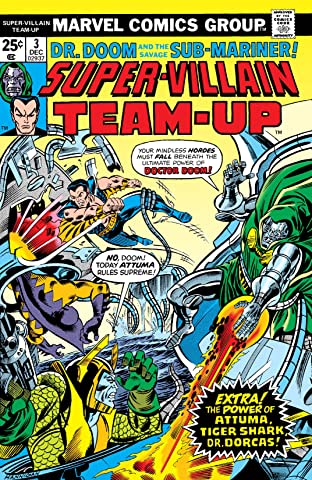 Super-Villain Team-Up (1975-1980) No.3