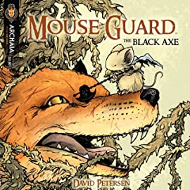 Mouse Guard: The Black Axe #4 (of 6)