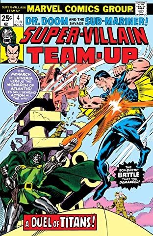 Super-Villain Team-Up (1975-1980) No.4