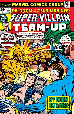 Super-Villain Team-Up (1975-1980) No.5