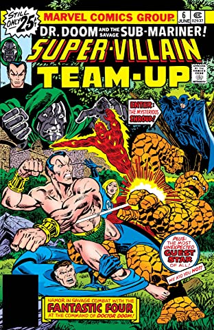 Super-Villain Team-Up (1975-1980) No.6