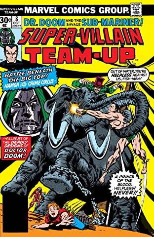 Super-Villain Team-Up (1975-1980) No.8