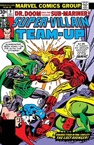 Super-Villain Team-Up (1975-1980) No.9