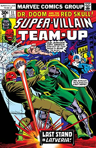 Super-Villain Team-Up (1975-1980) No.11