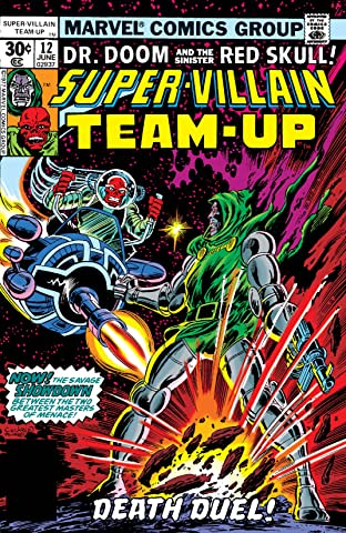Super-Villain Team-Up (1975-1980) No.12