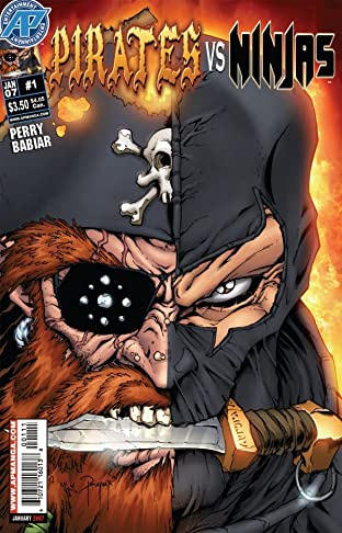 Pirates Vs. Ninjas #1 (of 4)