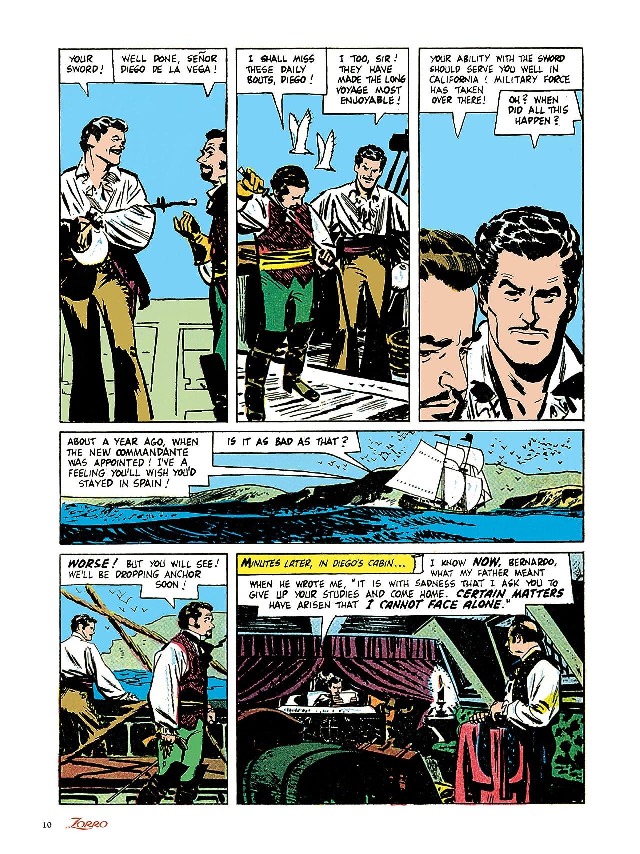Alex Toth's Zorro The Complete Dell Comics Adventures