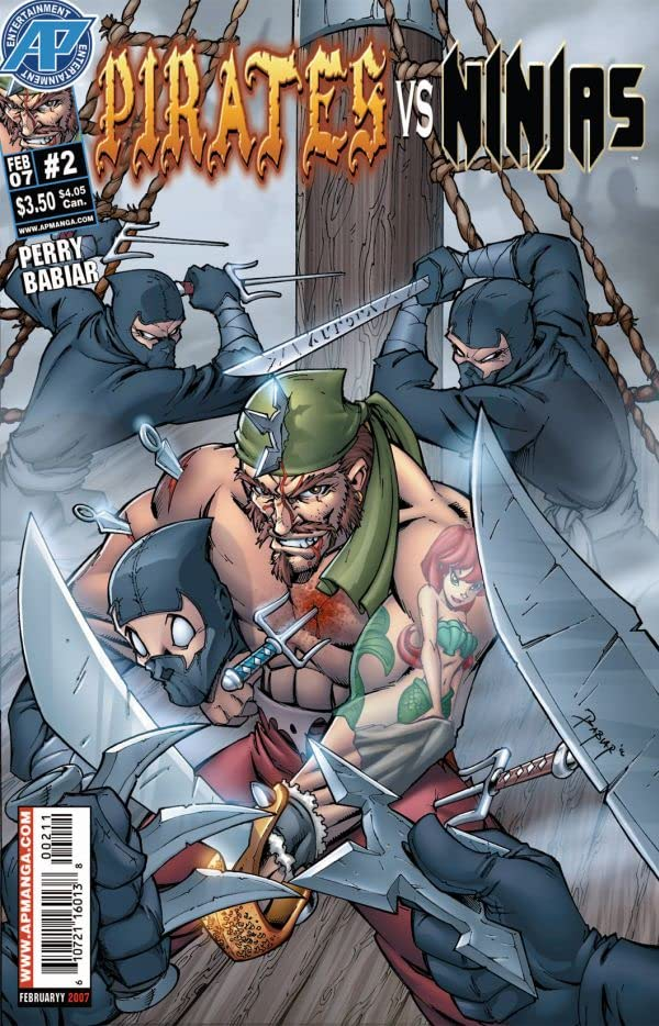 Pirates Vs. Ninjas #2 (of 4)