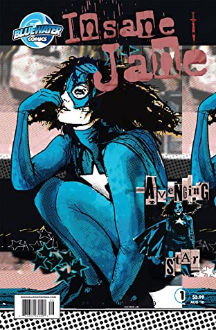 Insane Jane: The Avenging Star #1 (of 4)
