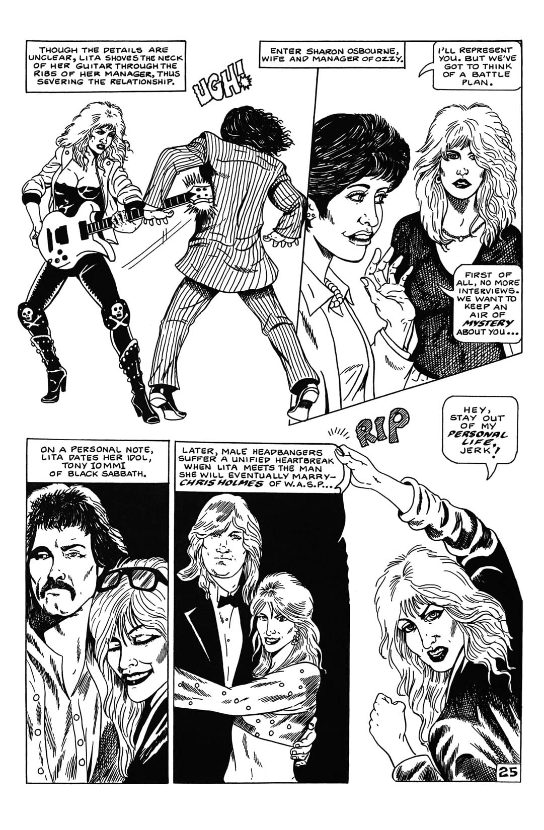 Rock N Roll Comics: Joan Jett