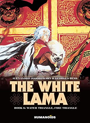 The White Lama Vol. 6: Water Triangle, Fire Triangle