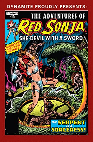 The Adventures of Red Sonja No.15