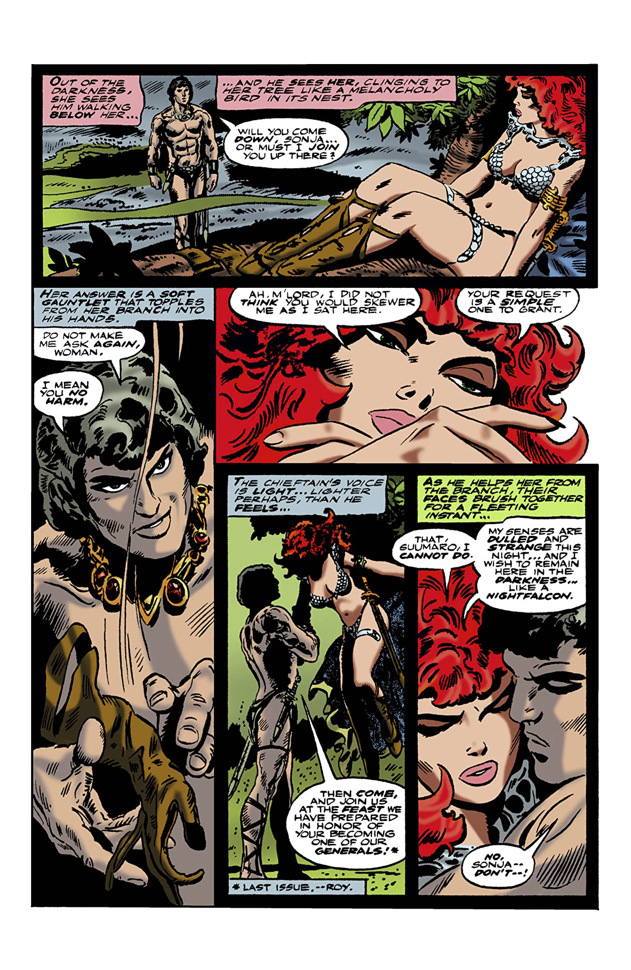 The Adventures of Red Sonja No.16