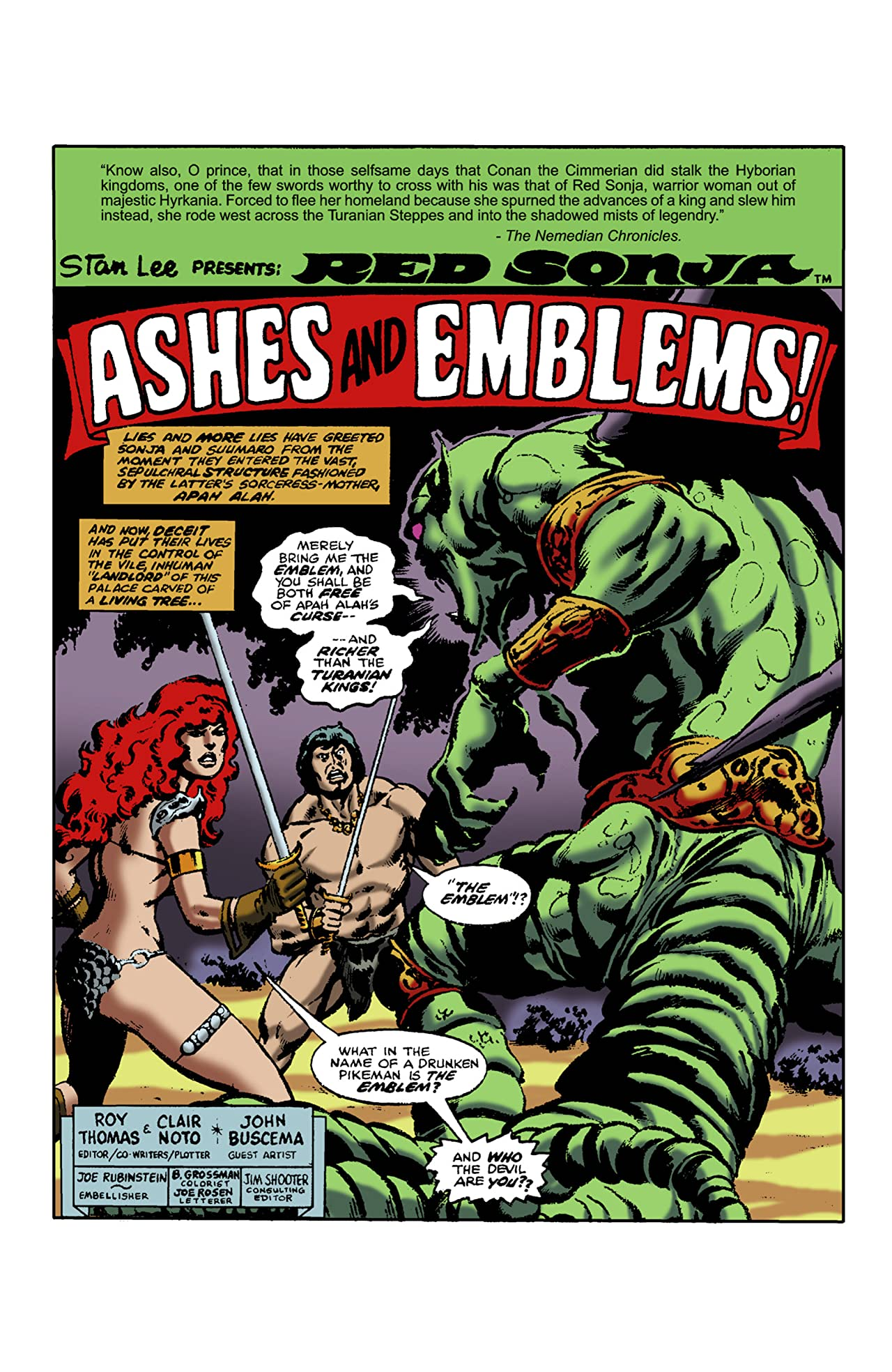 The Adventures of Red Sonja #19