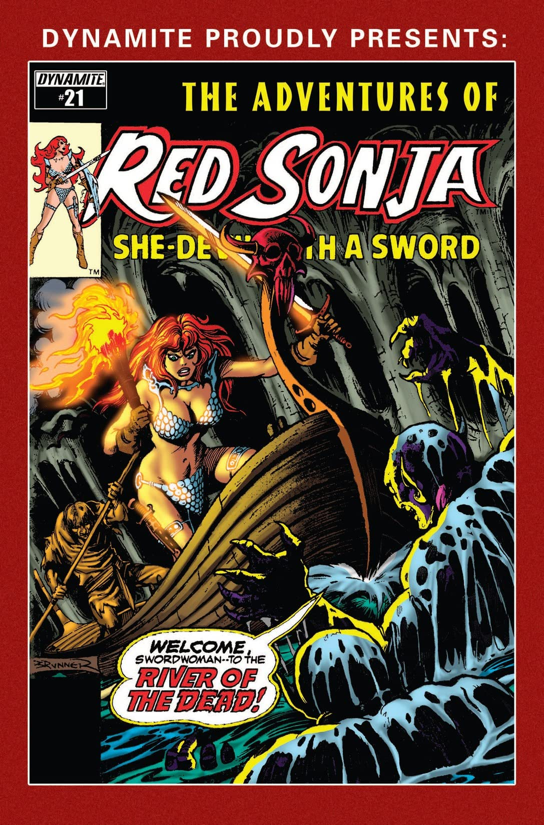 The Adventures of Red Sonja #21