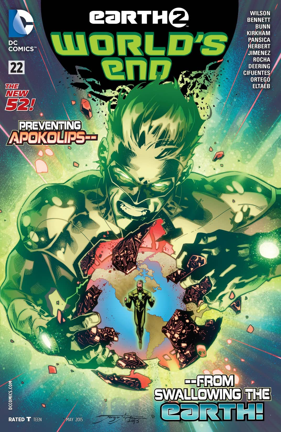 Earth 2: World's End (2014-2015) #22