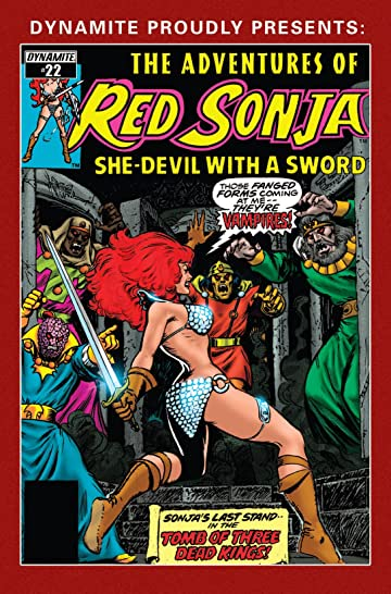 The Adventures of Red Sonja #22