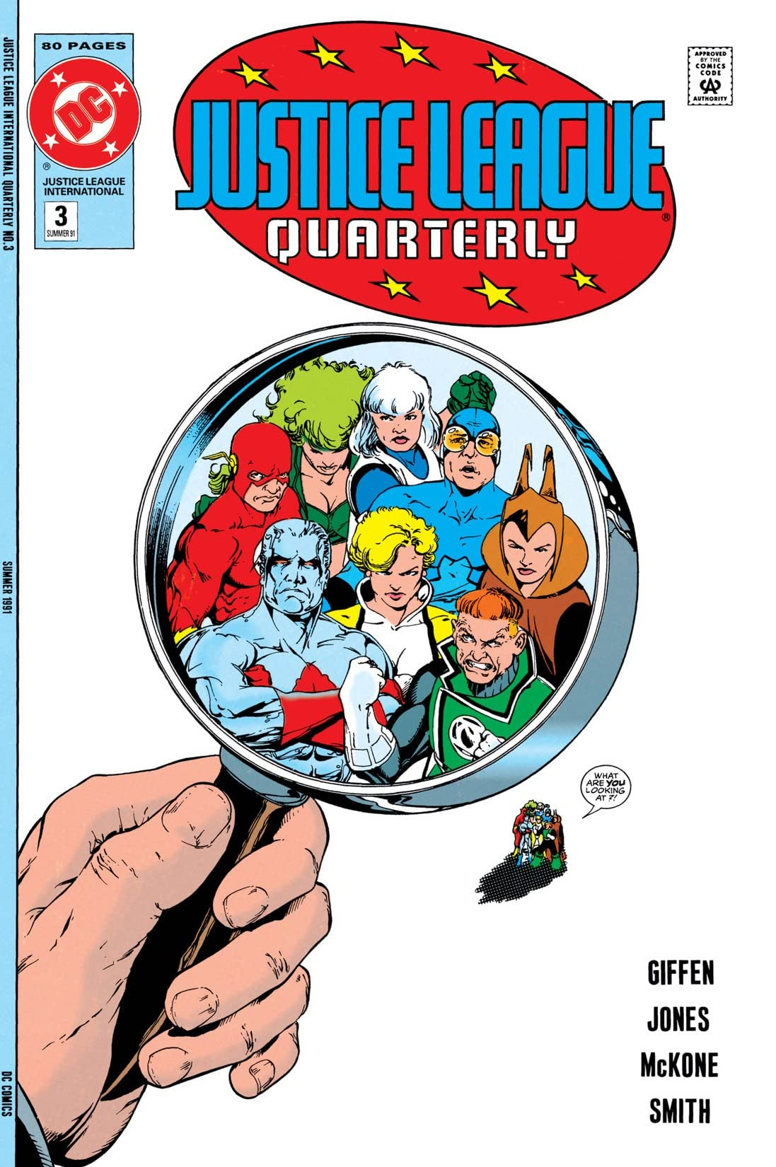 Justice League Quarterly (1990-1994) #3