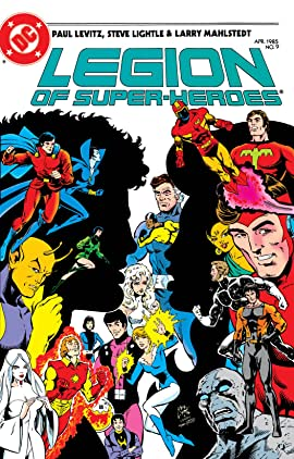 Legion of Super-Heroes (1984-1989) #9