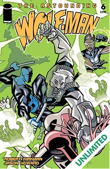 The Astounding Wolf-Man #6