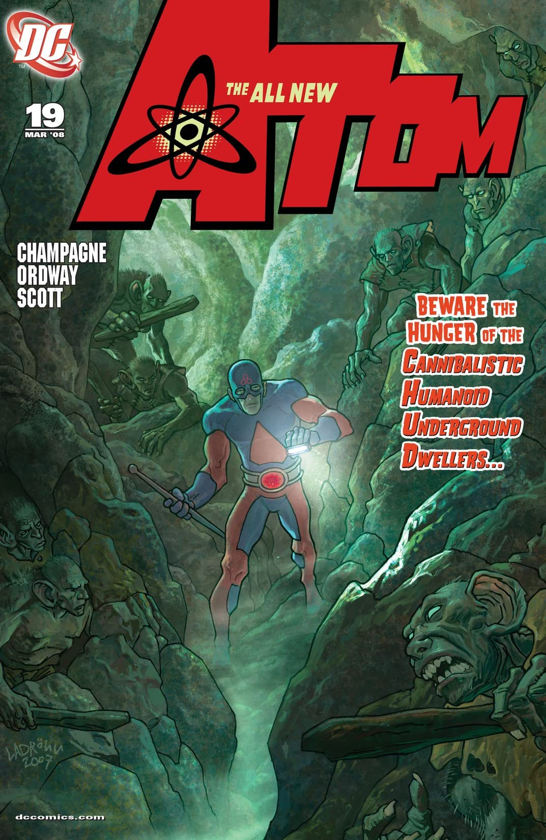 The All New Atom (2006-2008) #19