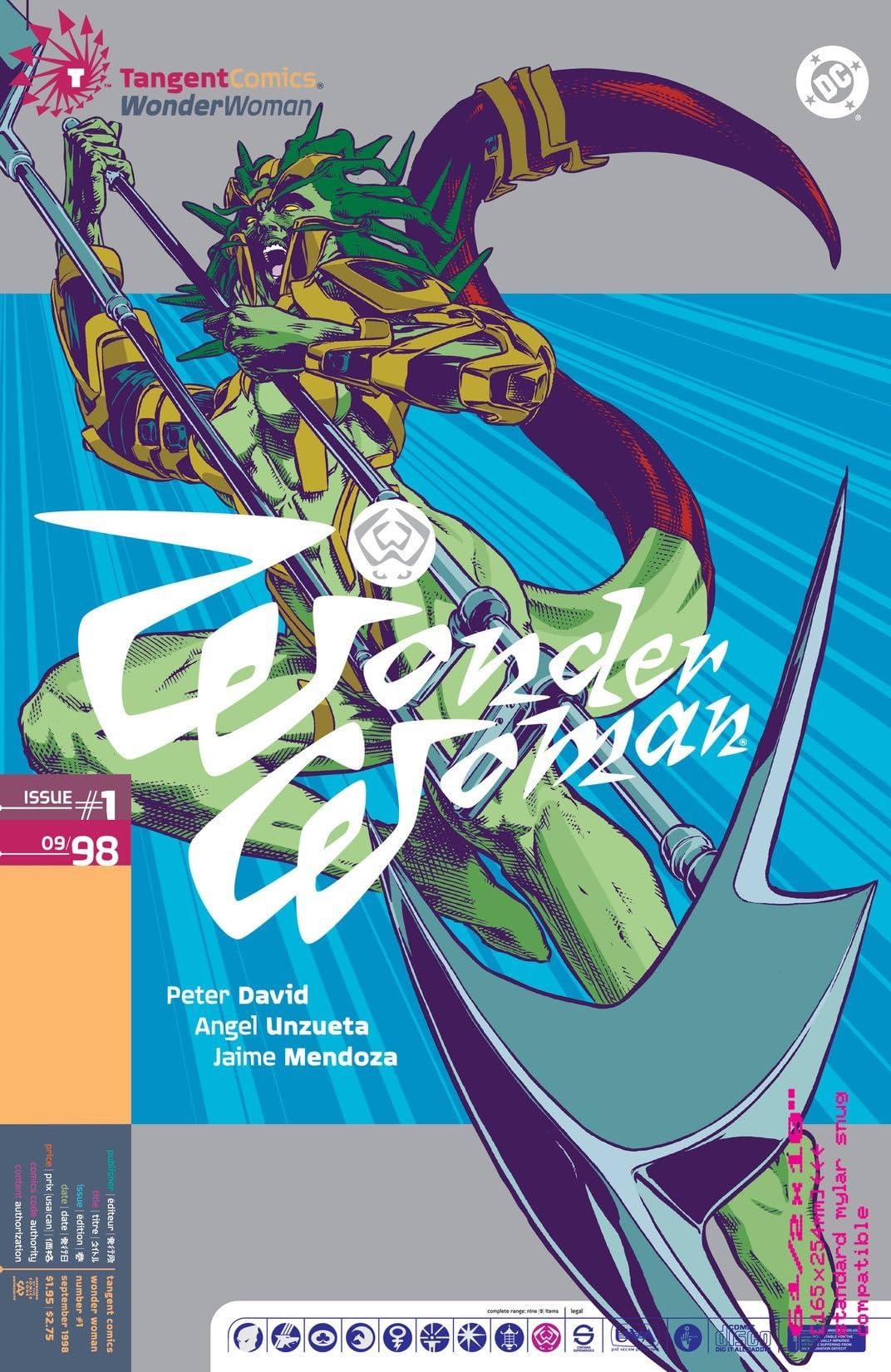 Tangent Comics: Wonder Woman (1998) #1