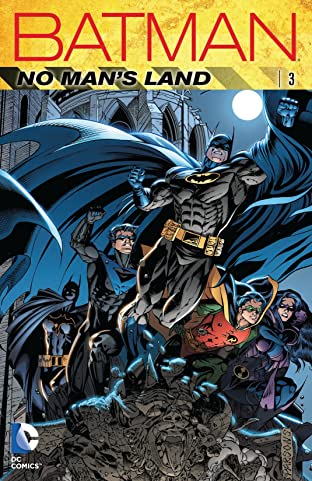Batman: No Man's Land COMIC_VOLUME_ABBREVIATION 3