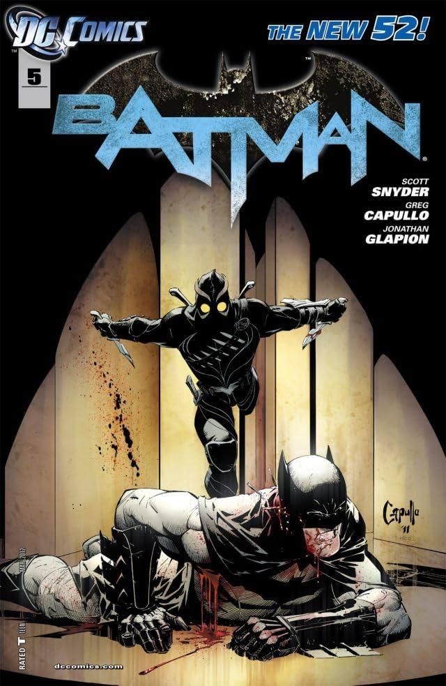 Batman (2011-) #5