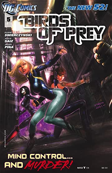 Birds of Prey (2011-2014) #5