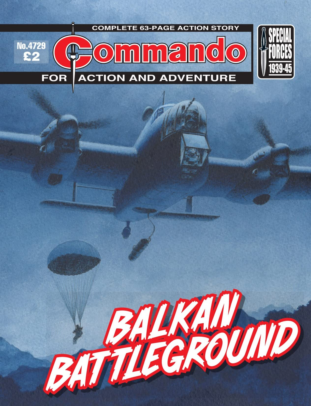 Commando #4729: Balkan BattleGround