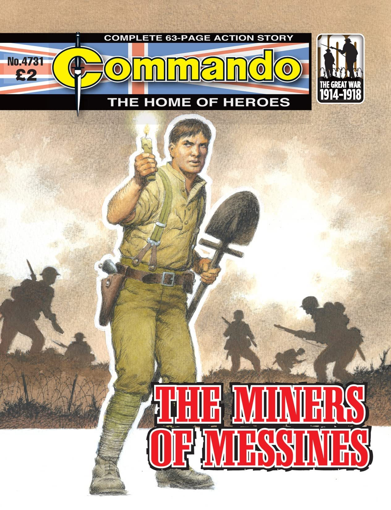 Commando #4731: The Miners Of Messines