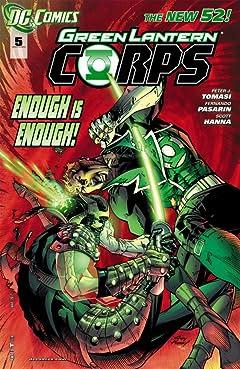 Green Lantern Corps (2011-2015) #5