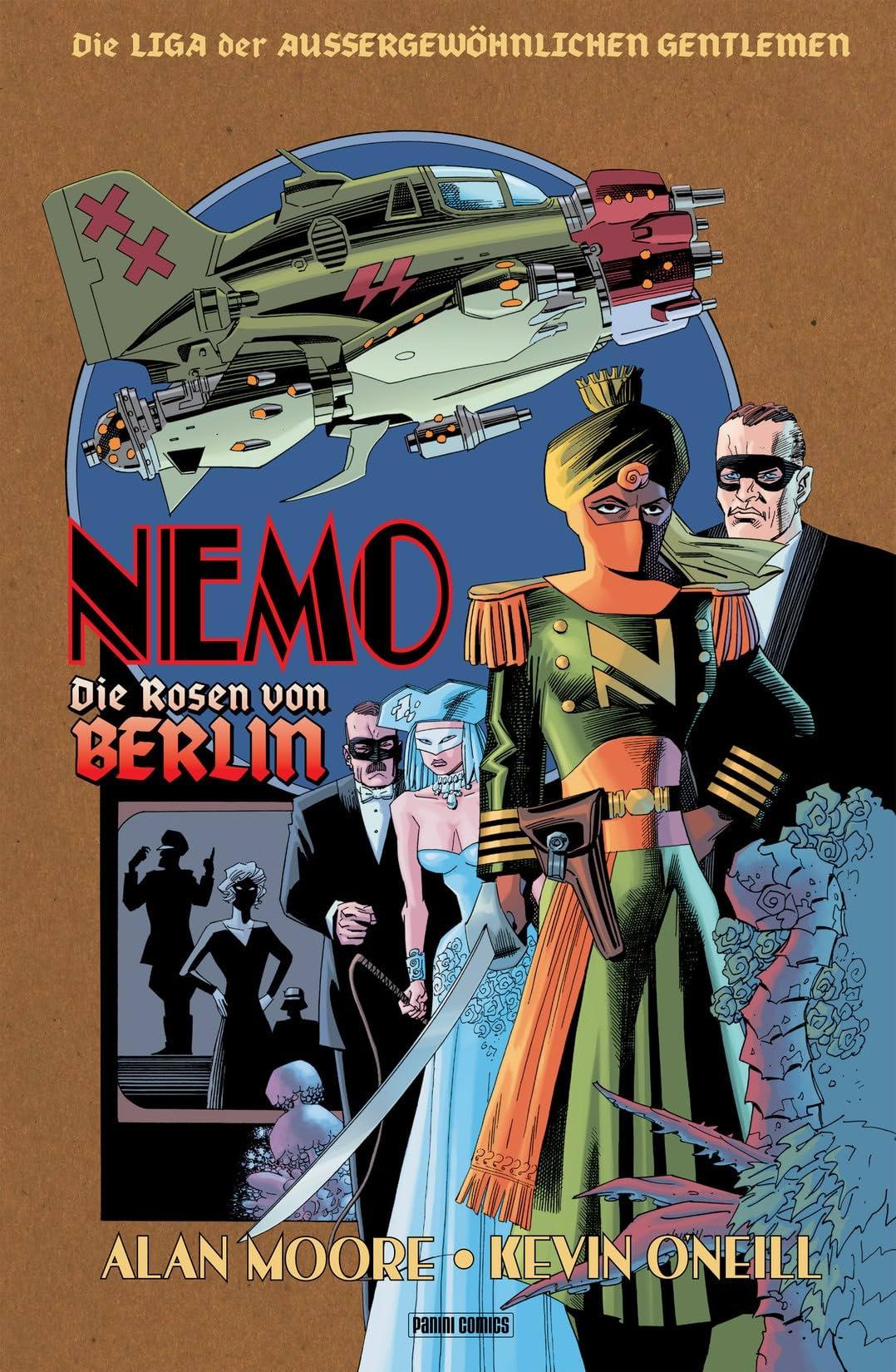 Die Liga der außergewöhnlichen Gentlemen Vol. 2: Nemo - Die Rosen von Berlin