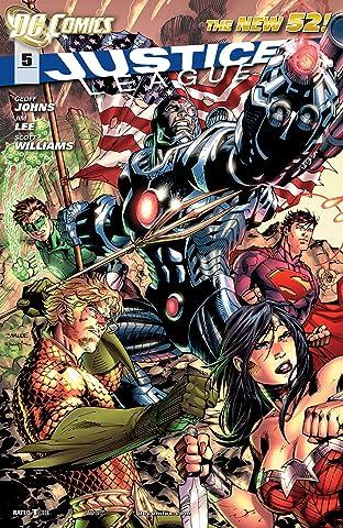 Justice League (2011-2016) #5