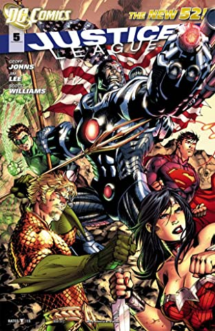 Justice League (2011-2016) No.5