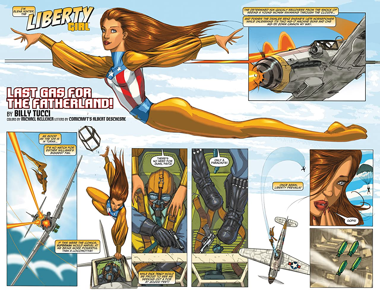 Liberty Comics #0