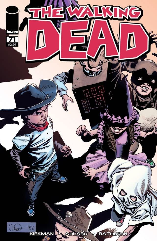 The Walking Dead #71