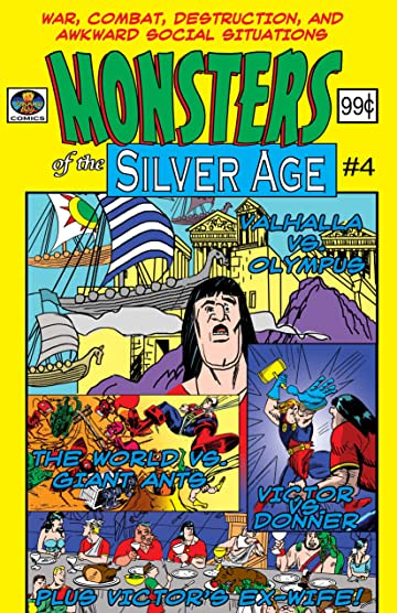 Monsters Of The Silver Age #4