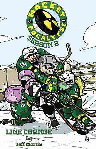 Hockeypocalypse Tome 2: Season 2: Line Change