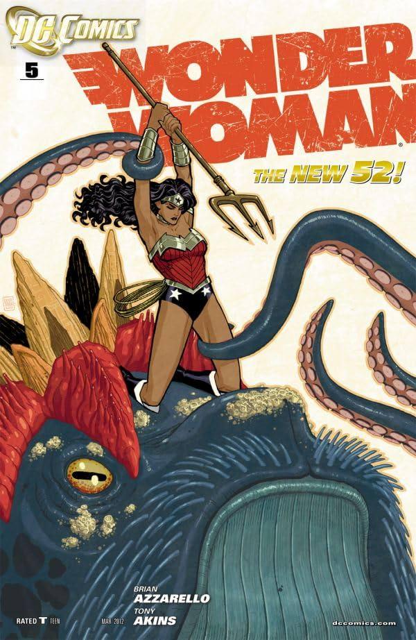 Wonder Woman (2011-) #5