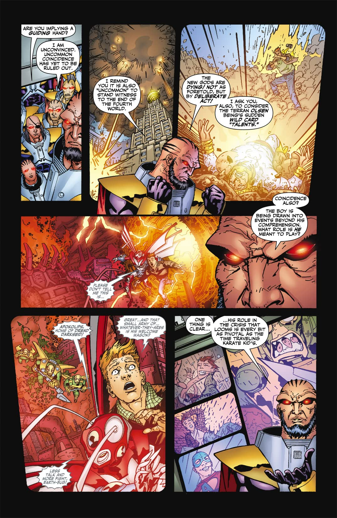 Countdown to Final Crisis #26