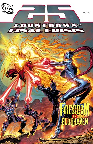 Countdown to Final Crisis #25