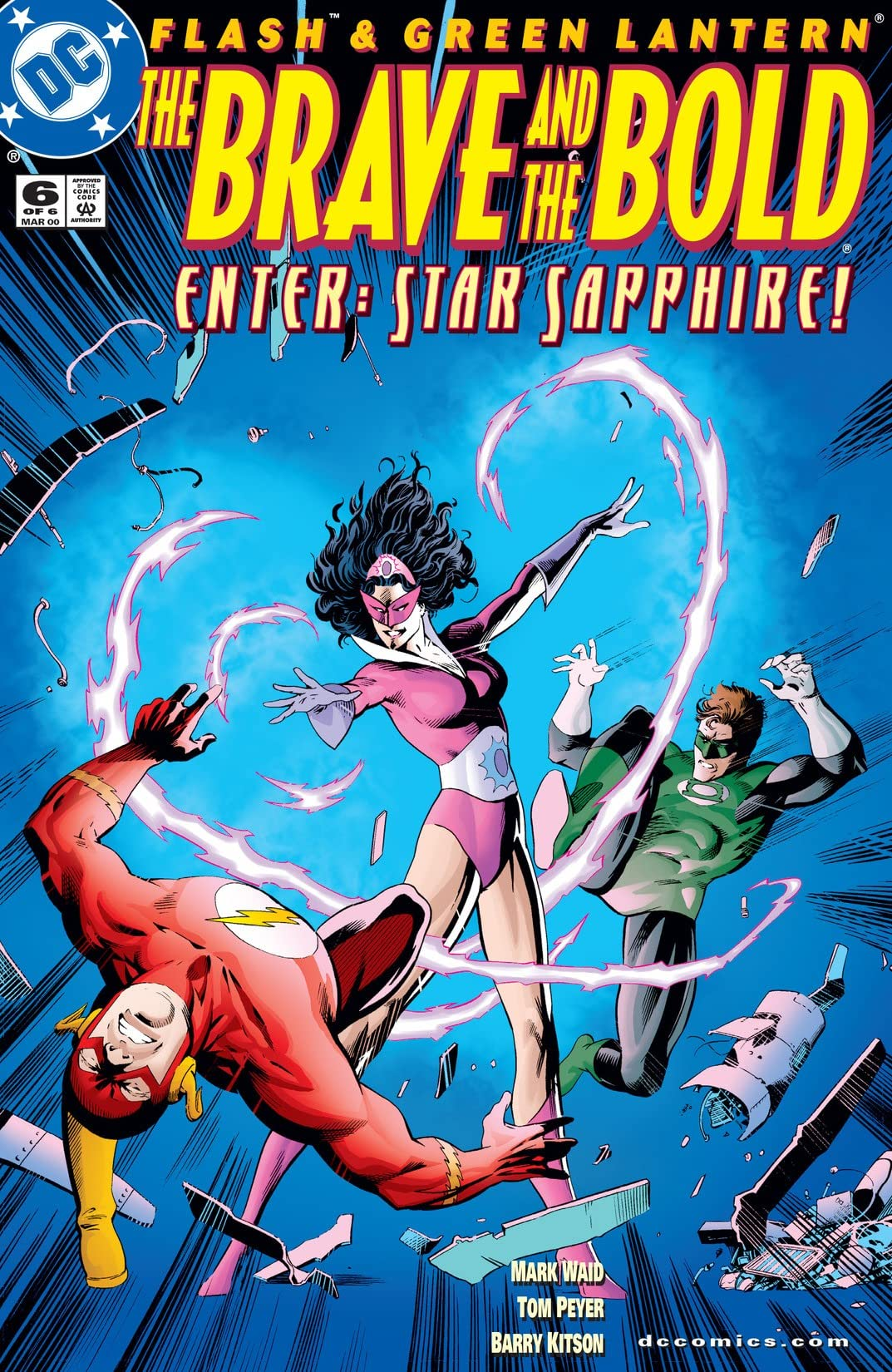 Flash & Green Lantern: The Brave & The Bold (1999-2000) #6