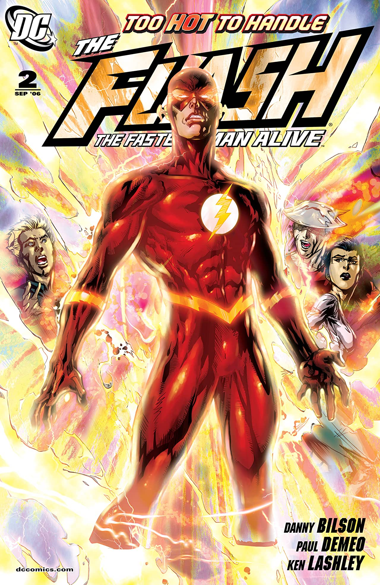 The Flash: The Fastest Man Alive (2006-2007) #2