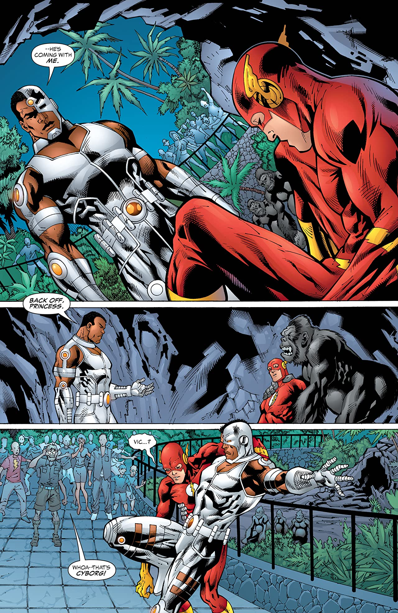 The Flash: The Fastest Man Alive (2006-2007) #5