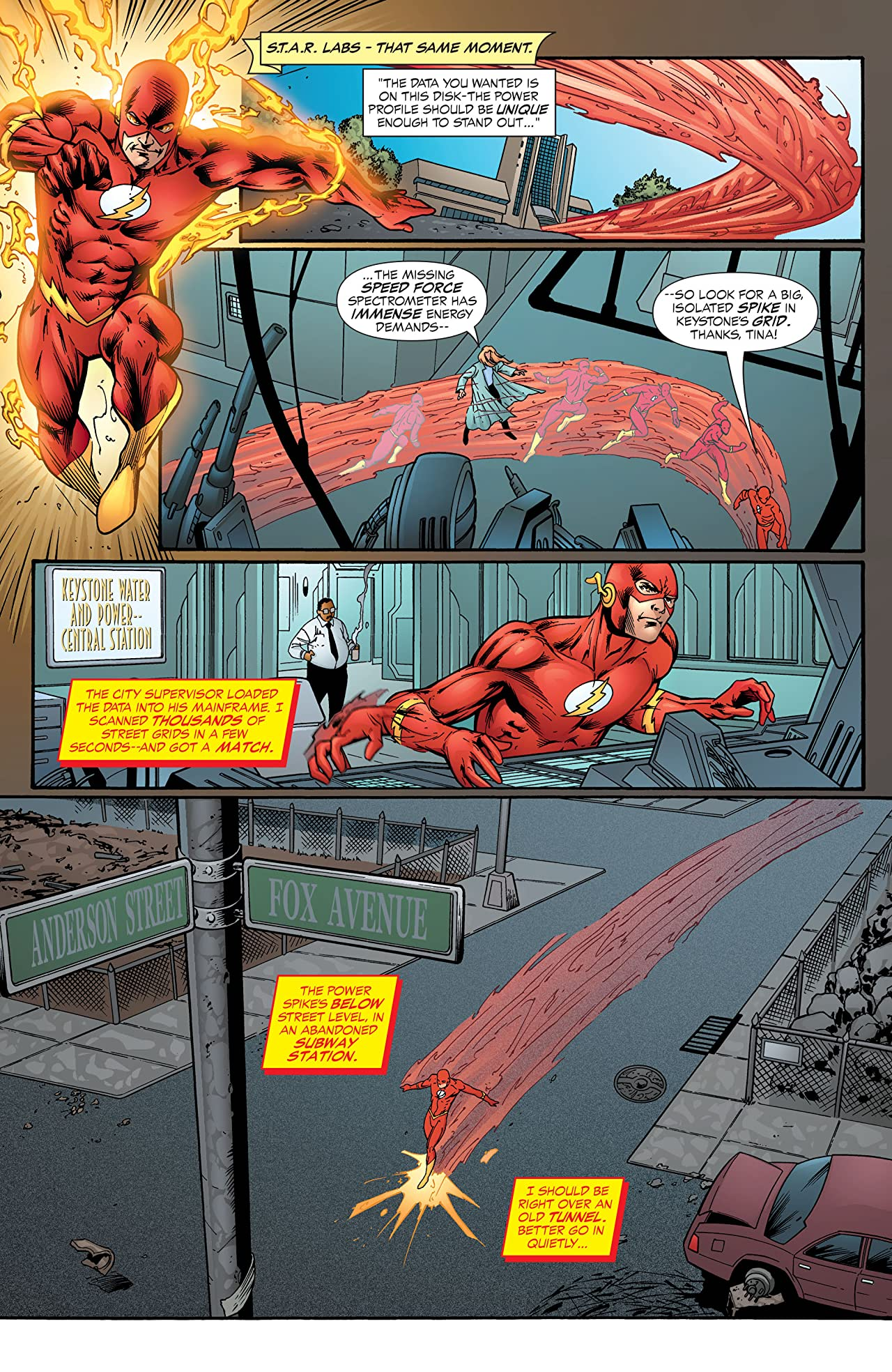 The Flash: The Fastest Man Alive (2006-2007) #6